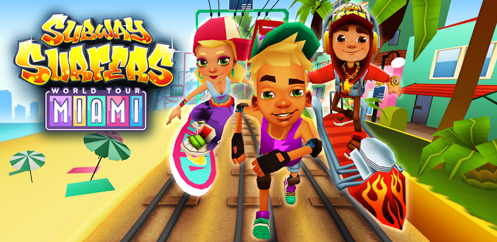 Subway Surfers Miami - TEchbeasts