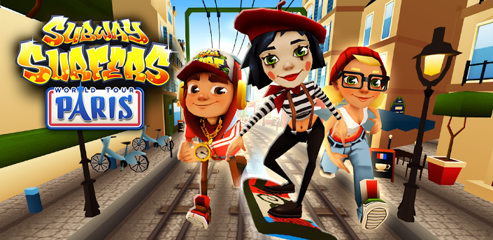 Subway Surfers Paris - Techbeasts