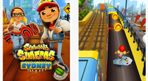 Subway Surfers Rome Sydney - 2013