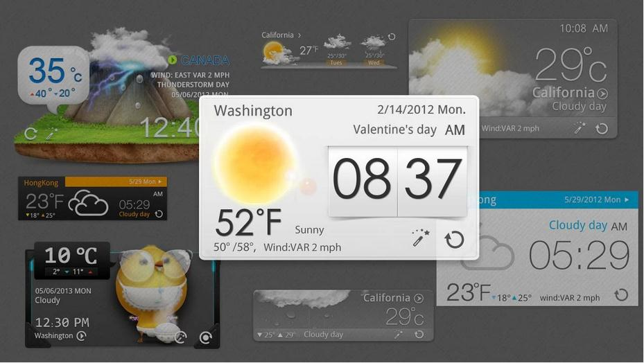 GO Weather Forecast & Widgets 2