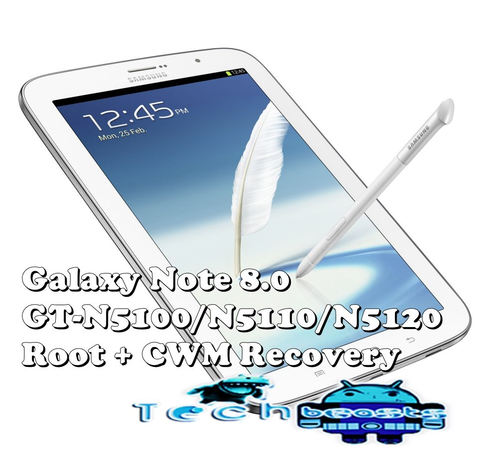How to Root and Install CWM Recovery on Samsung Galaxy Note GT-N7000
