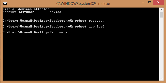Adb Download & Recovery