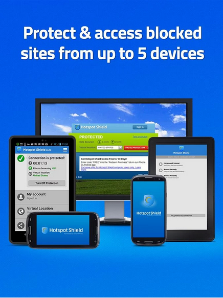 Hotspot Shield VPN 1.6.1 APK