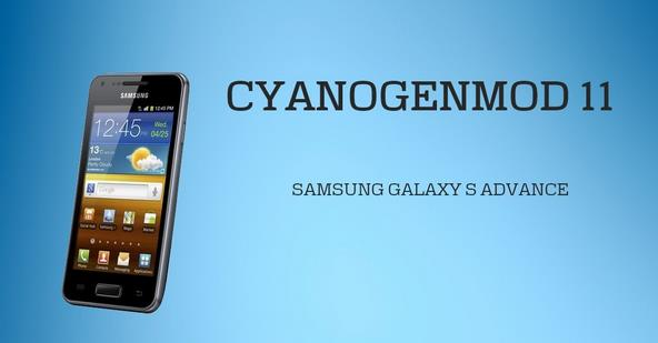 Update Samsung Galaxy S Advance GT-I9070 To CM 11 Android 4.4 Kit-Kat