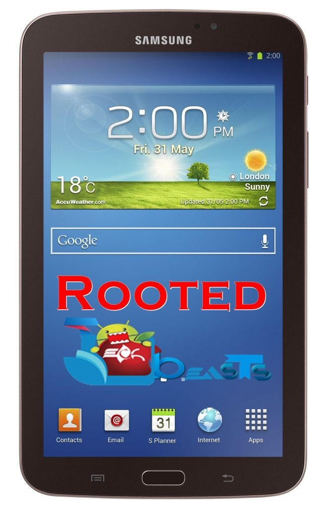 GALAXY TAB 3 7.0 GOLD BROWN