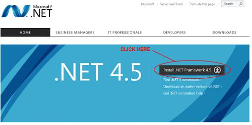 install-and-download-.net-framework