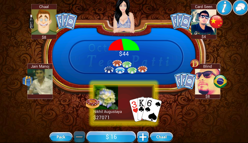 and Tap Unknown Source. Download Teen Patti – Indian Poker Apk: LINK