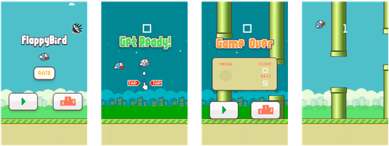 Window phone Flappy Bird
