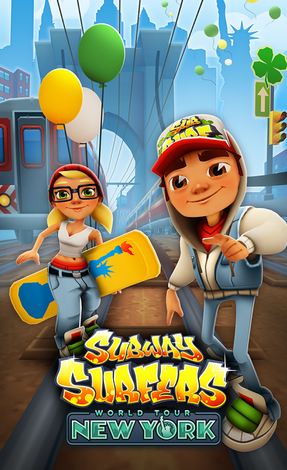Subway Surfers NewYork Hack, Unlimited Coins and Keys – [ 2015 ]