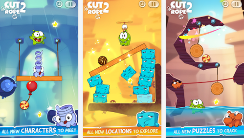 Cut the Rope 2 Apk Modded