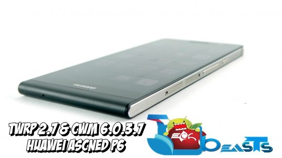 TWRP 2.7 CWM 6.0.3.7 Huawei Ascend P6