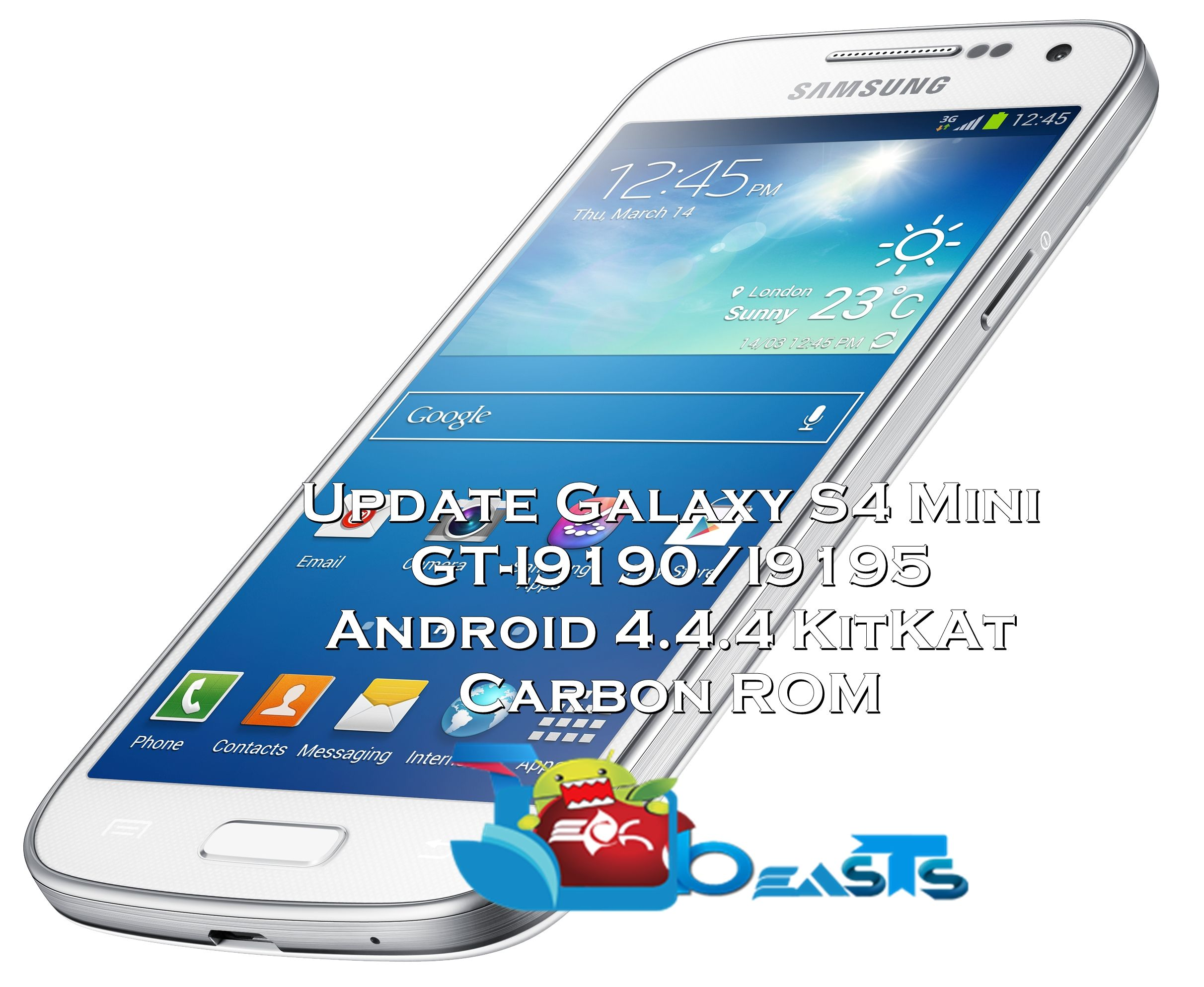 Galaxy S4 Mini Android 4.4.4 KitKat