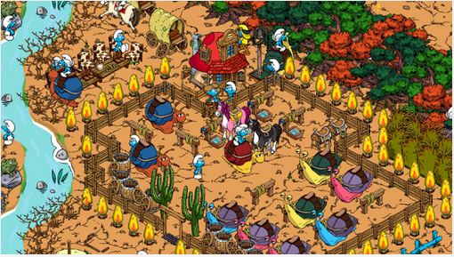 Smurfs' Village for PC