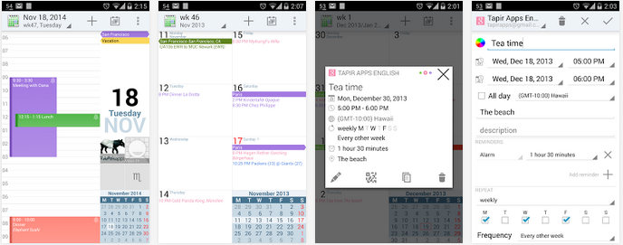 Best Free Calendar Apps For Android 2018