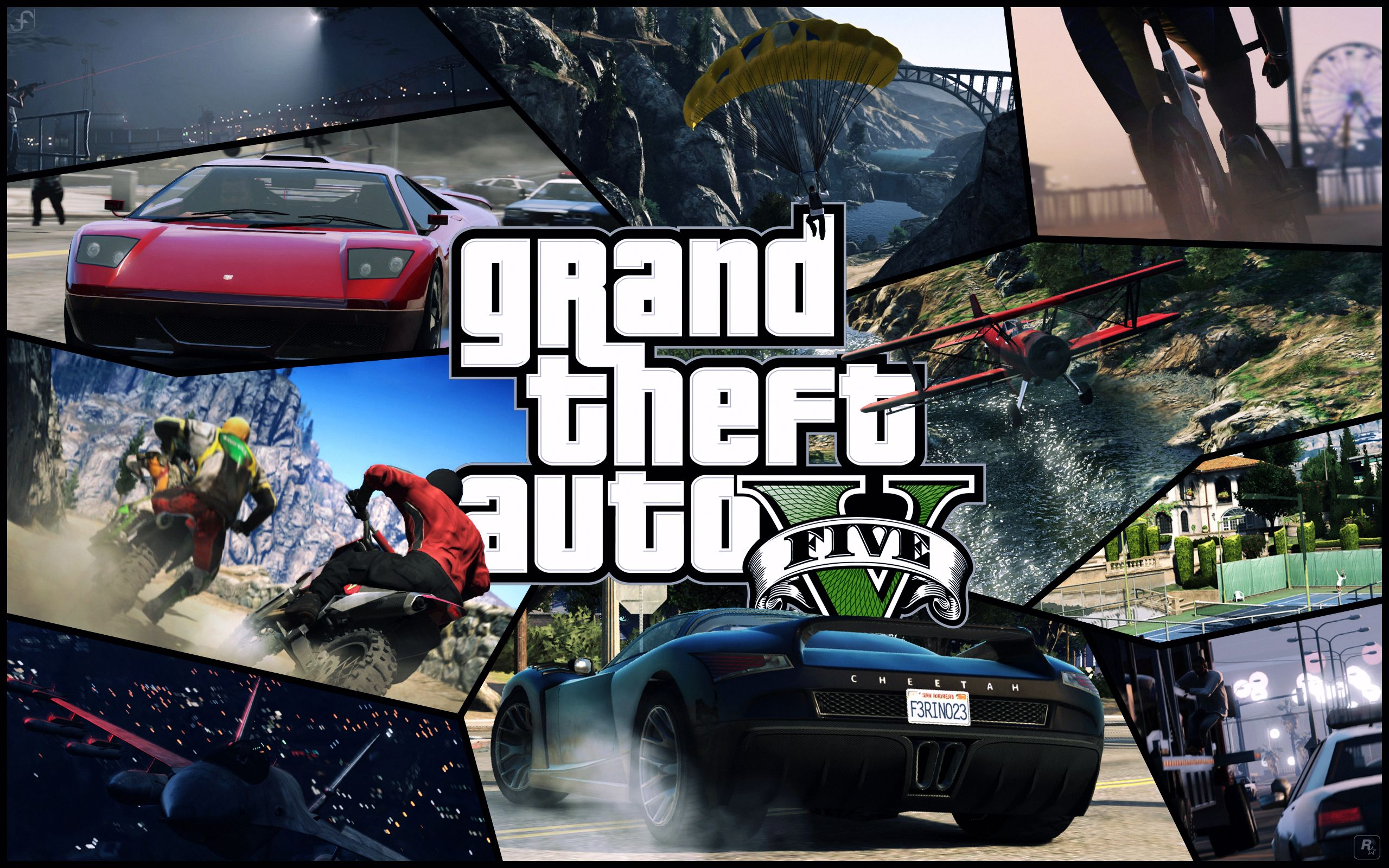 GTA 5 HD & Wide Wallpapers for Your Desktop | TechBeasts