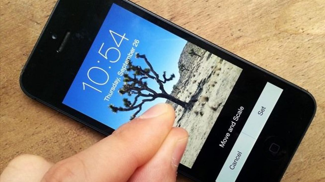 How To Stop Wallpaper Resize and Zoom in iOS 21 [ Guide ]
