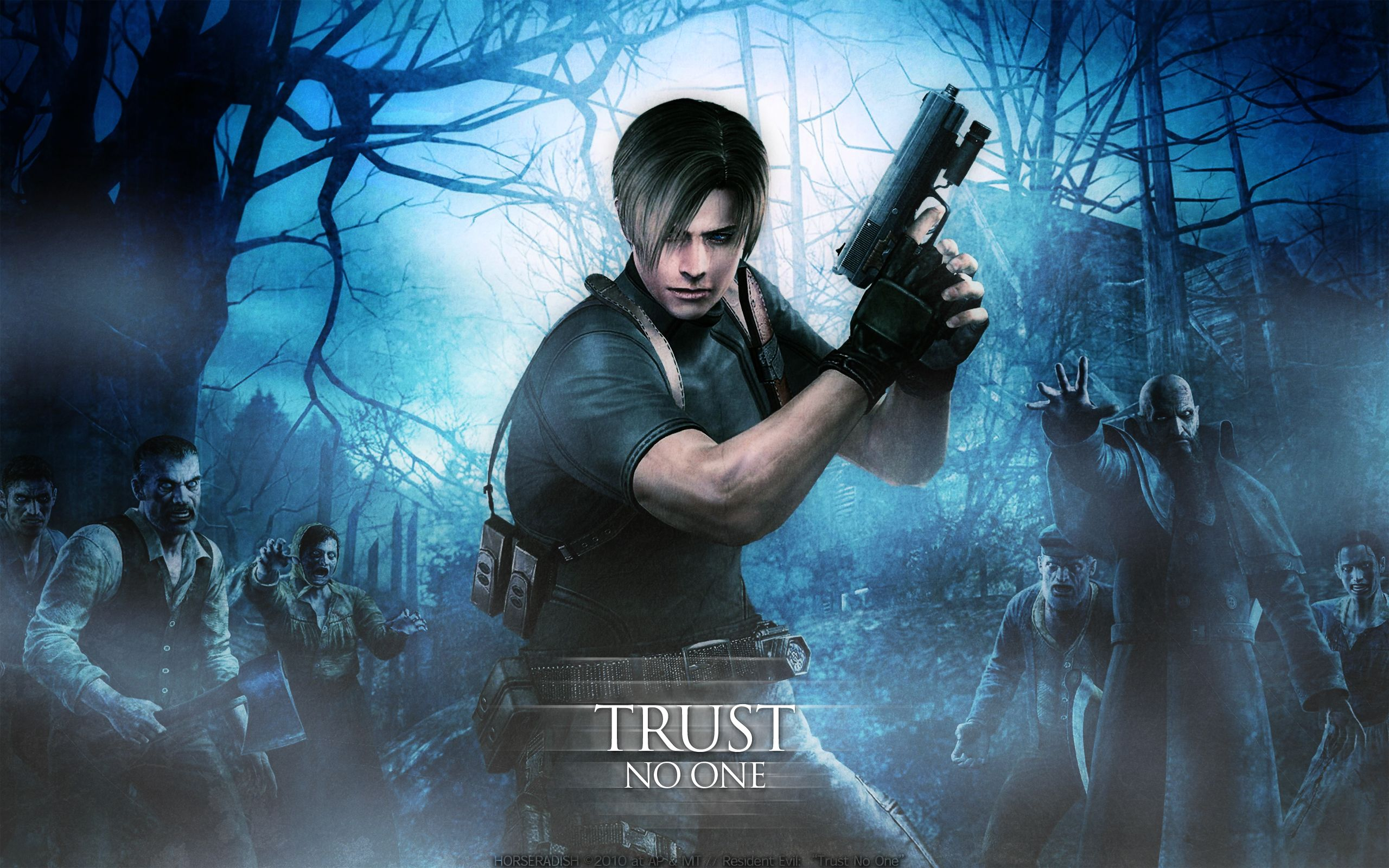 Resident Evil 4 HD Wallpapers Download For Desktop