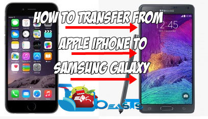 switching from iphone to galaxy how to completely migrate amp transfer data from apple 18050