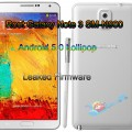 Root Galaxy Note 3 SM-N900 to Android 5.0 Lollipop Leaked Firmware