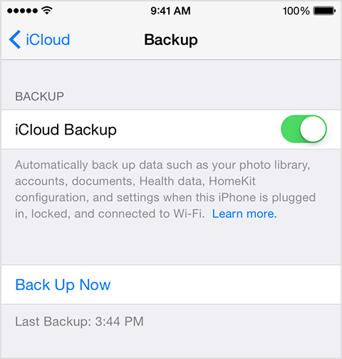 iOS 8 Tutorial: Enable iCloud Back-up on iPhone/iPad
