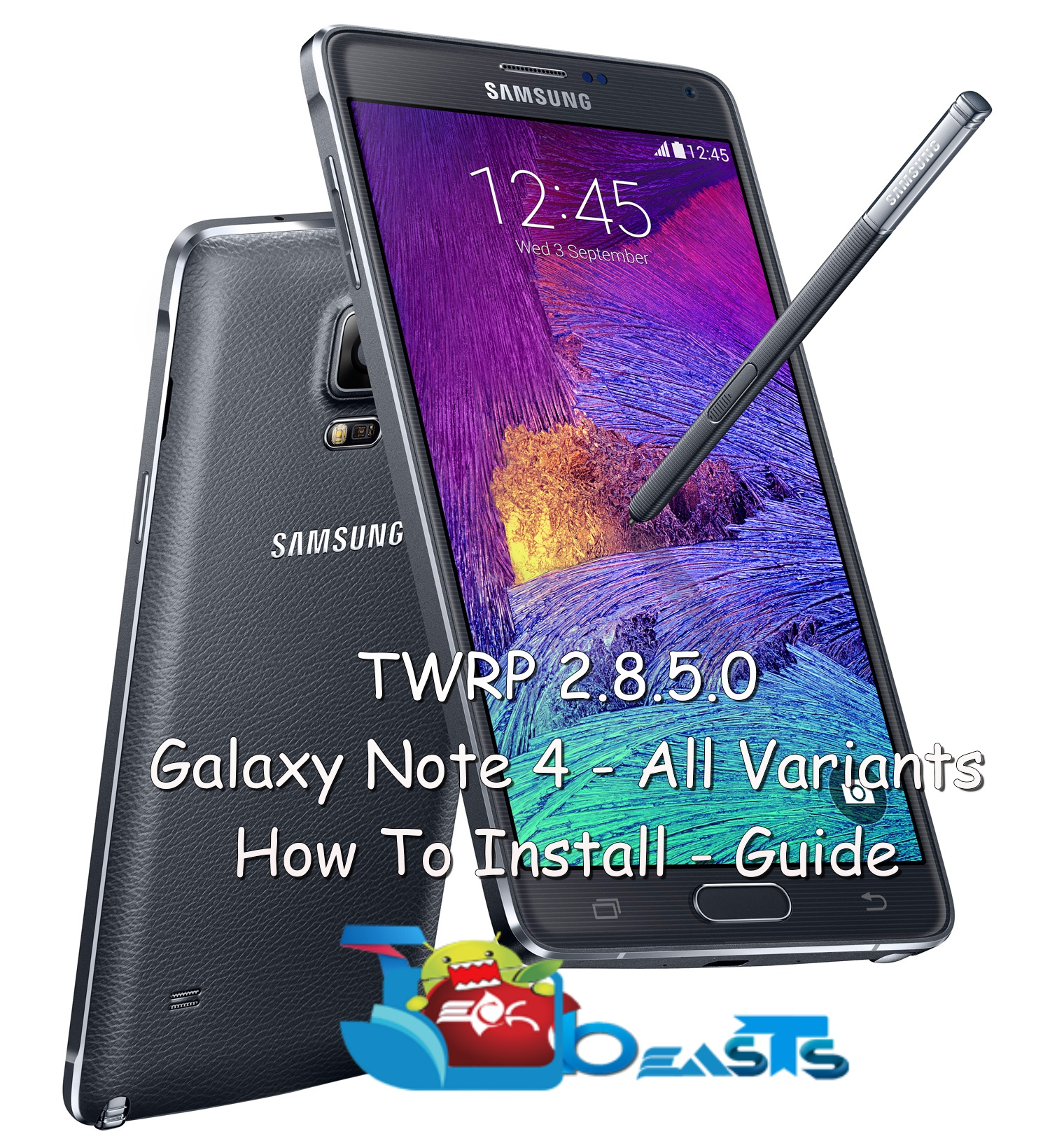 Install Latest TWRP Recovery On Samsung Galaxy Note 4