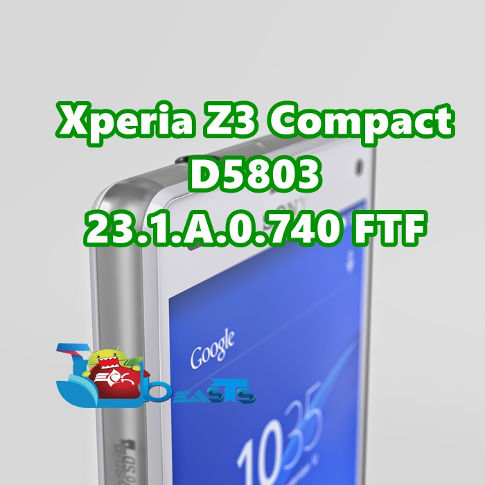 Update Xperia Z3 Compact D5803 to 23.1.A.0.740 Lollipop (.740 FTF)