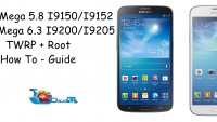 Install TWRP 2.8.6.0 Recovery & Root Galaxy Mega 6.3 & 5.8