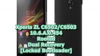 Root Xperia ZL C6502, C6503 10.6.A.0.454 LP Plus CWM/TWRP