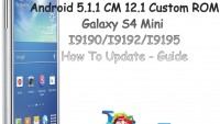 Install Android 5.1.1 Lollipop On Galaxy S4 Mini With CyanogenMod 12.1