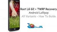 Root LG G2 Running Android Lollipop & Install TWRP Recovery