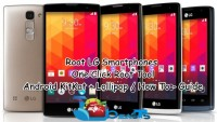 Easily Root LG Phones On KitKat/Lollipop With One Click Tool