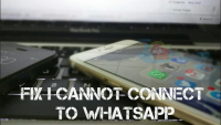 "How To Fix "" I cannot connect to WhatsApp! "" Issue [ Tutorial ]"