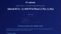 Jailbreak iOS 8.4 – 8.3 With PP On iPhone 6, 6 Plus, 5s, More