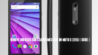 Remove Unlocked Bootloader message on Moto G (2015) [ Guide ]