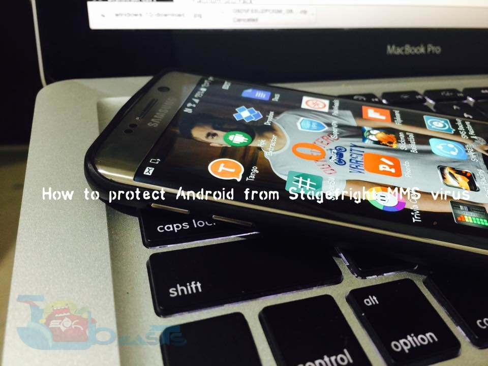 protect Android from stagefright virus