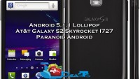 Install Android 5.1.1 Lollipop On At&t Galaxy S2 Skyrocket SGH I727