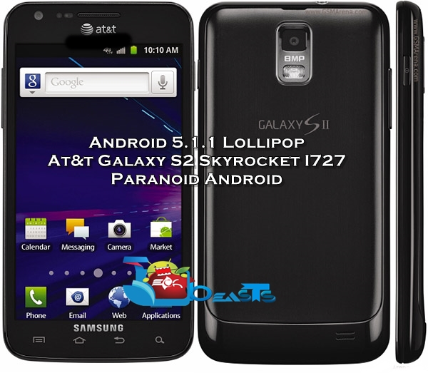 install android 5 1 1 lollipop on at t galaxy s2 skyrocket sgh i727 rh techbeasts com