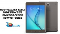 Root Samsung Galaxy Tab A T350/355, P350/355 On Android Lollipop