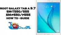 Root Samsung Galaxy Tab A T550/T555, P550/P555 On Android Lollipop