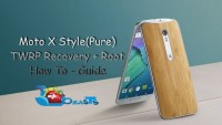 Install TWRP Recovery On Moto X Style(Pure) & Root It