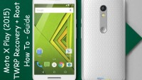 Install TWRP Recovery On Moto X Play & Root It