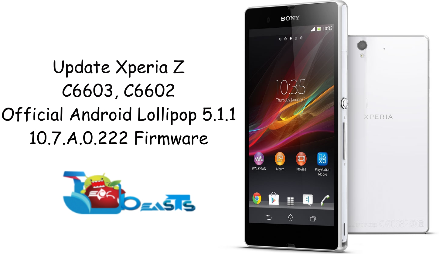 Update Sony Xperia Z C6602, C6603 To Official Android 5 1 1