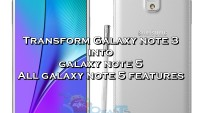 How To Turn Galaxy Note 3 Into Note 5 With DarkLord Note 5 ROM