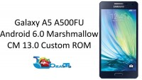 Update Samsung Galaxy A5 A500FU To Android 6.0 Marshmallow CyanogenMod 13 ROM