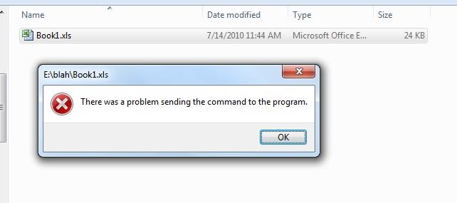 Any send error sending file
