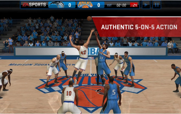 nba live mobile 1 0 6 apk by electronic arts techbeasts