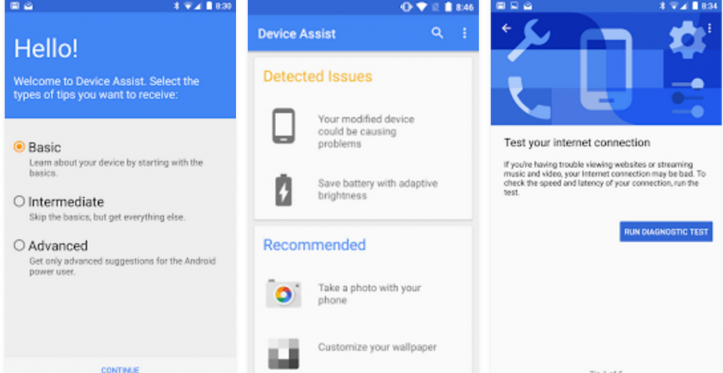 Google Device Assist