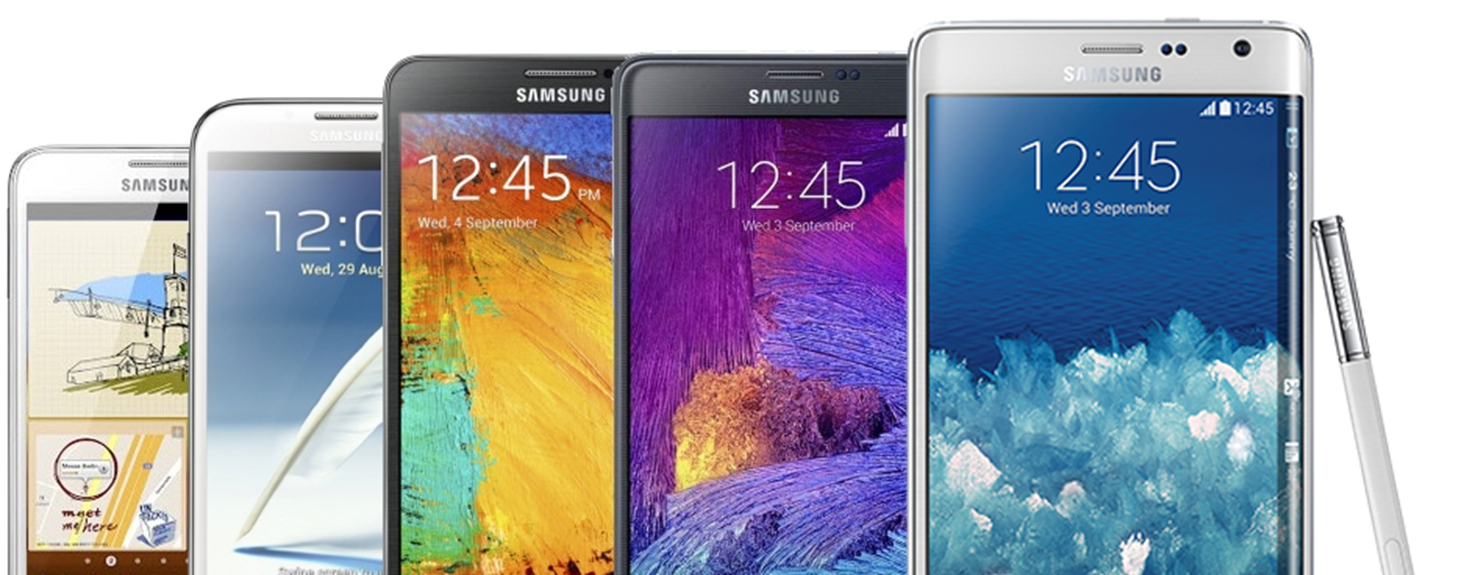 A look at the evolution of Samsung's Note series from ...