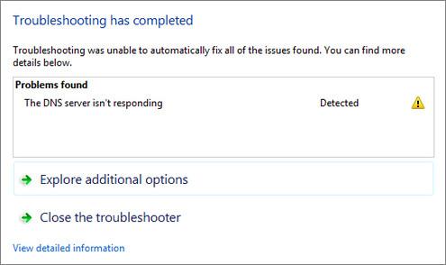 dns-server-not-responding-fixed