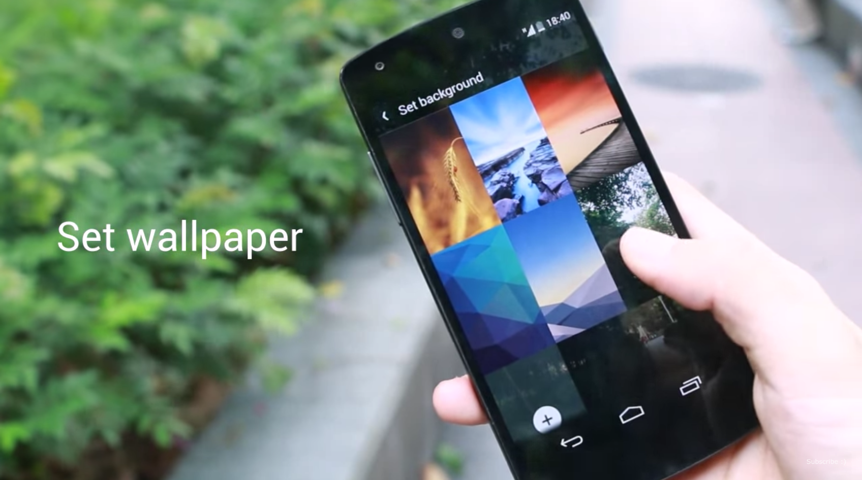 Android lockscreen